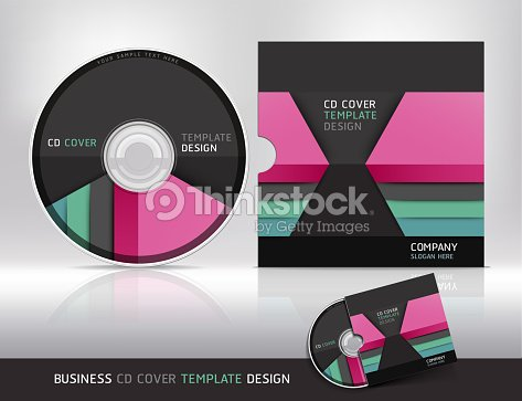 cd cover design template abstract background vector art thinkstock