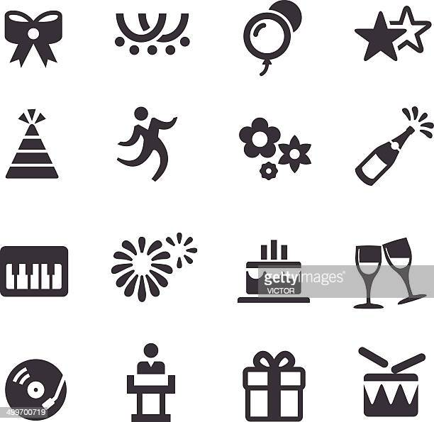 Party und Urlaub-Icons-Acme Series