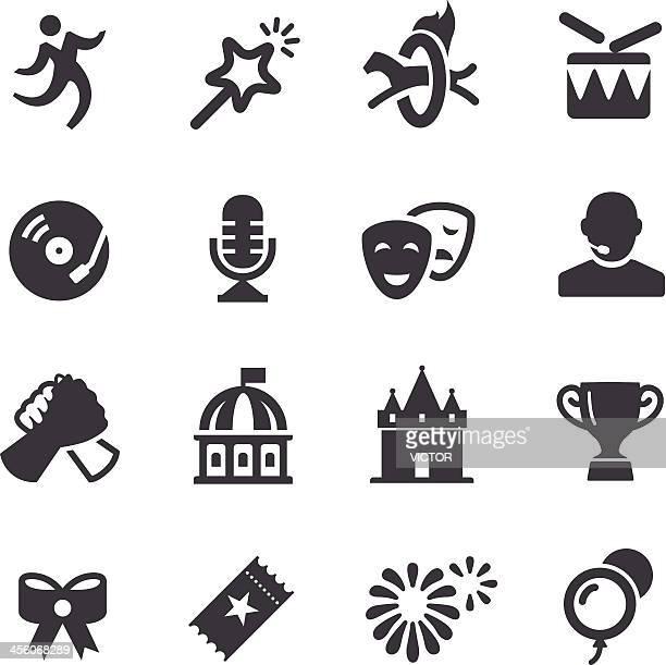 Feier und Show-Icons-Acme Series