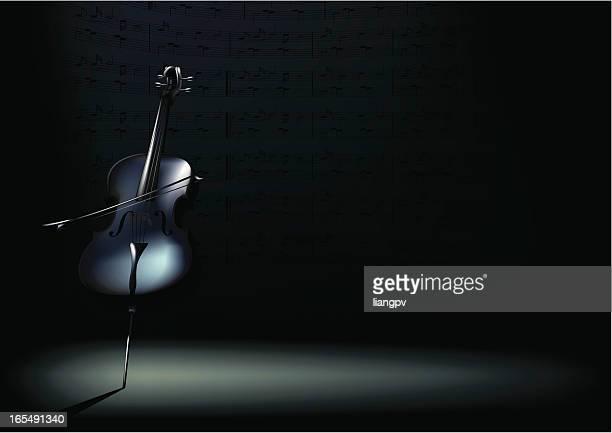 Violoncelle Horizontal