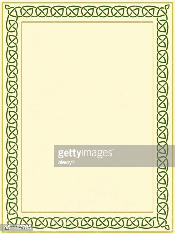 Celtic Border Vector Art | Getty Images