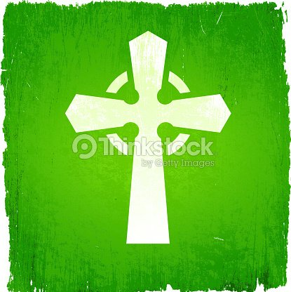 celtic cross on royalty free vector background vector art thinkstock