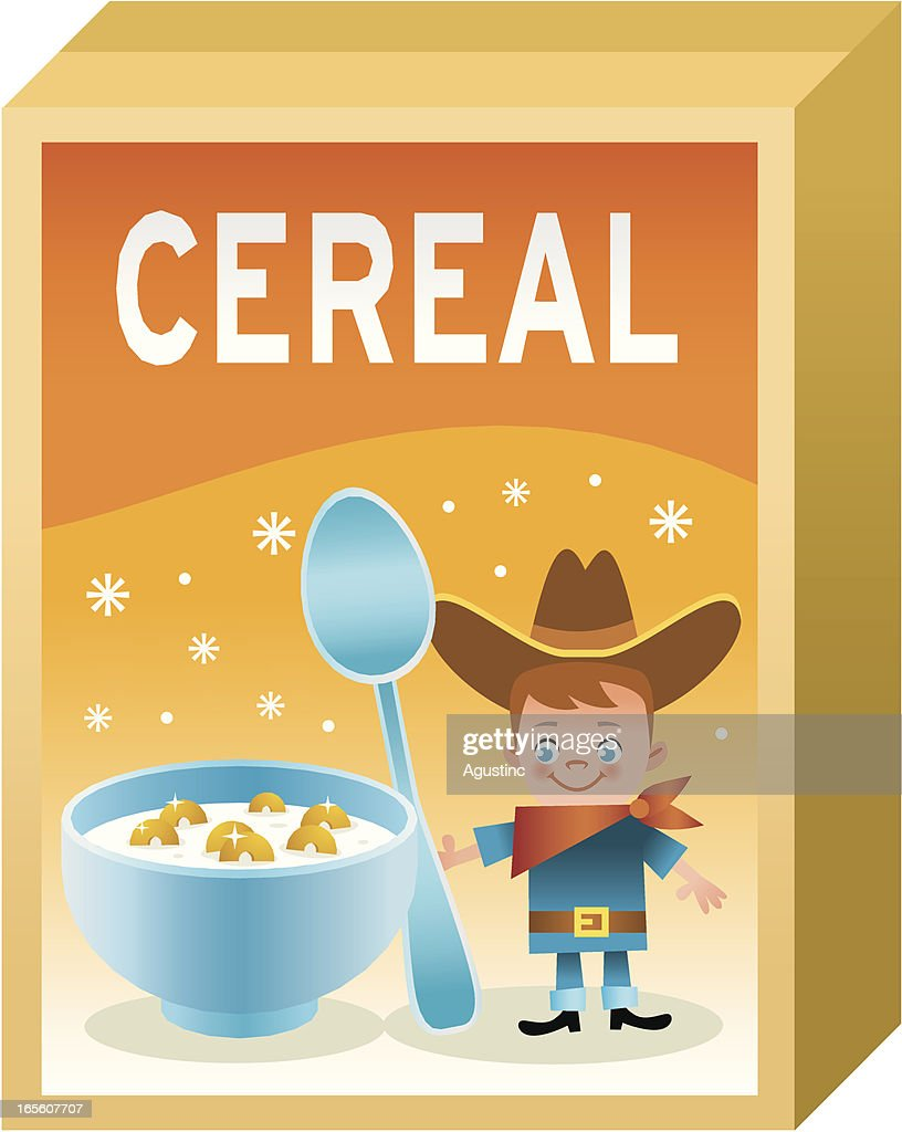 Cereal Box Vector Art Getty Images