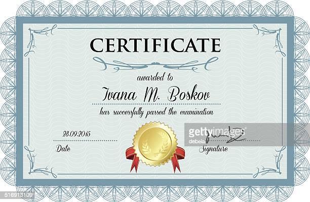 Zertifikat Award