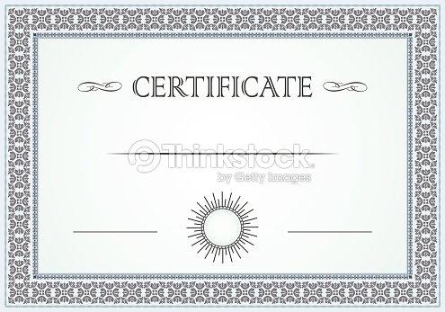 Certificate Border Vector Art | Thinkstock