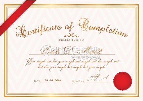 Certificate diploma template background design with pattern ribbon certificate diploma template background design with pattern ribbon wax seal yelopaper Gallery
