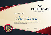 Certificate of Appreciation template.eps10.vector new