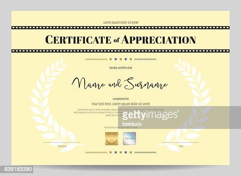 appreciation template