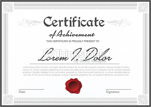 Certificate Templates Vector Art Thinkstock