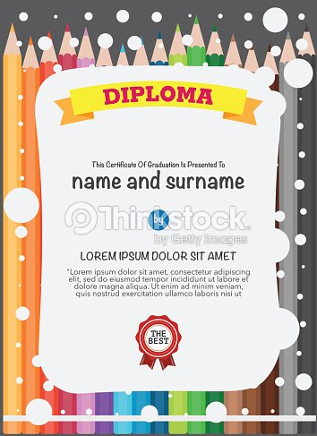 Certificates Kindergarten And Elementary And Secondary Education ...