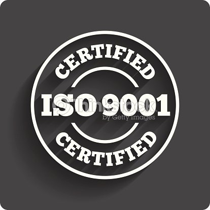 ISO 9001 Certified Sign Certification Stamp