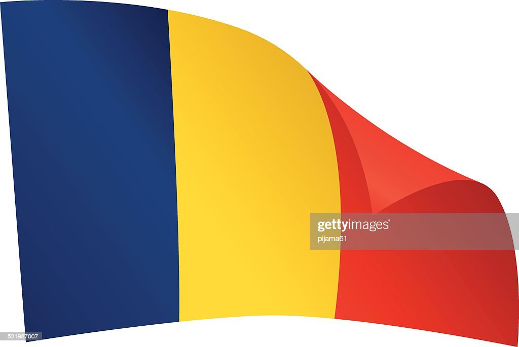 Chad Flag Vector Art Getty Images - Chad flag