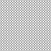 Chain link Fence, Braid wire fence texture, seamless pattern vector Grid metal chain-link