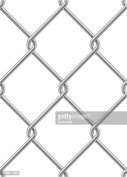 Chainlink fence vector art and graphics getty images