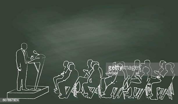 Chalk Public Speech