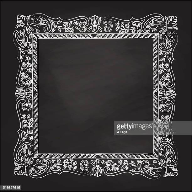 Chalkboard Antique Frame