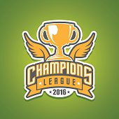 Champions league logo in vector