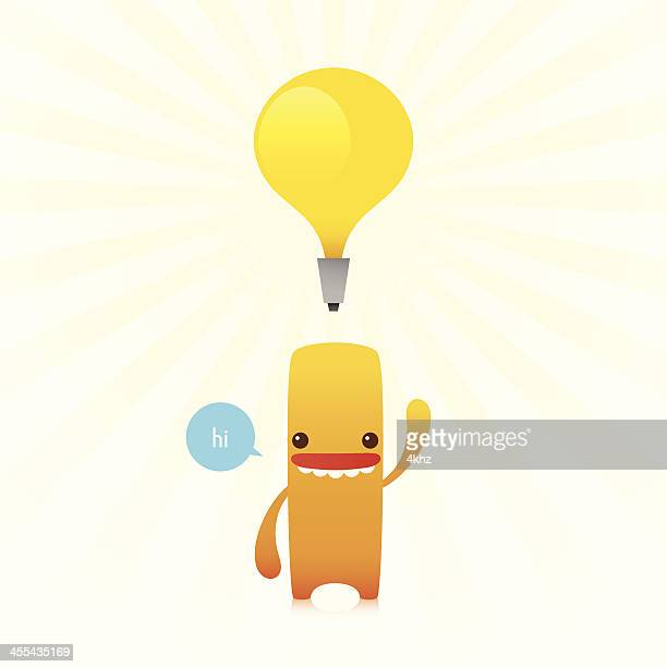 Character Appears with New Idea Bulb