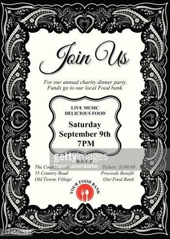 Dinner Invitation Templates