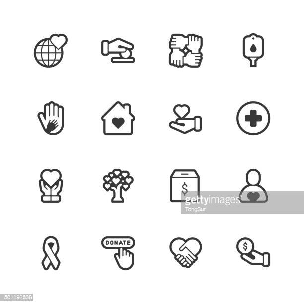 Charity icons - Regular Outline
