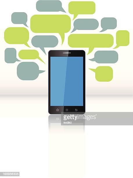 Chattare su uno smartphone