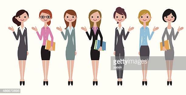 Fröhlich business-Frauen