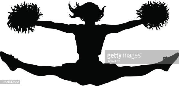 cheerleader clipart svg - photo #26