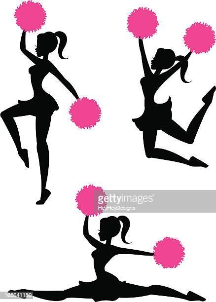 cheerleader clipart svg - photo #44