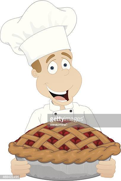 Cherry Pie Stock Illustrations And Cartoons Getty Images