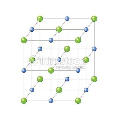 Risultati immagini per cristallo di cloruro di sodio