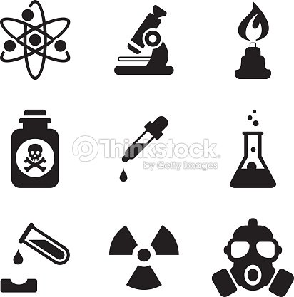 Chemistry Icons : stock vector