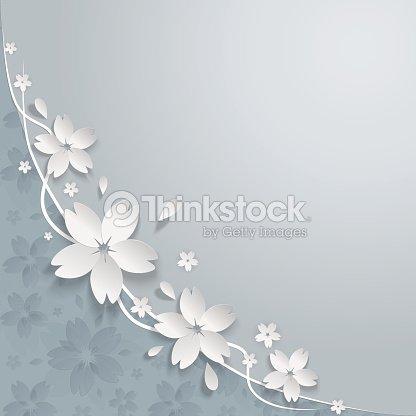 Cherry blossom paper flowers background vector art thinkstock cherry blossom paper flowers background vector art mightylinksfo