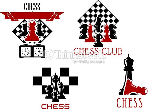 Chess Club And Tournament Symbols Vector Art Thinkstock