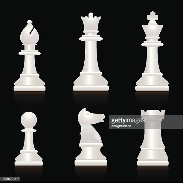 Chess Set: White