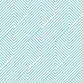 Chevron stripe pattern seamless green aqua and white colors. Geometric stripde abstract background vector.