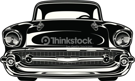 Chevy Bel Air 1956 Vector Art Thinkstock