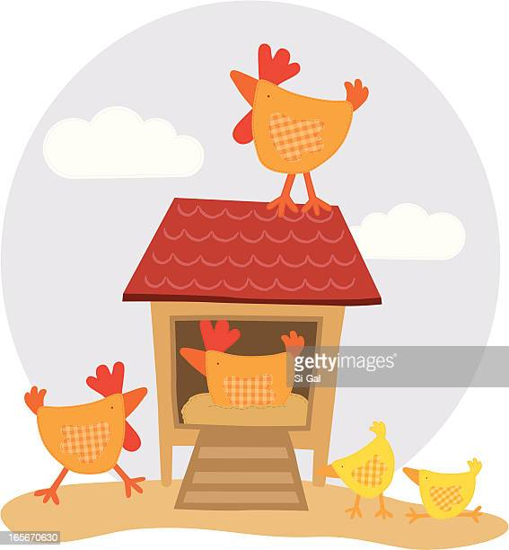 chicken coop stock illustrations and cartoons getty images hen clipart sketch hen clipart gif