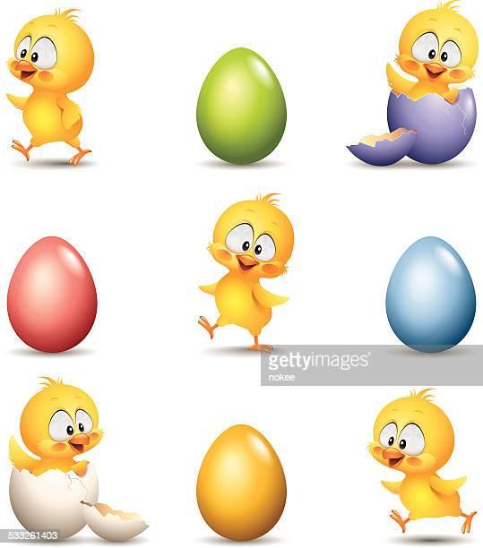 Chicks - Egg Set