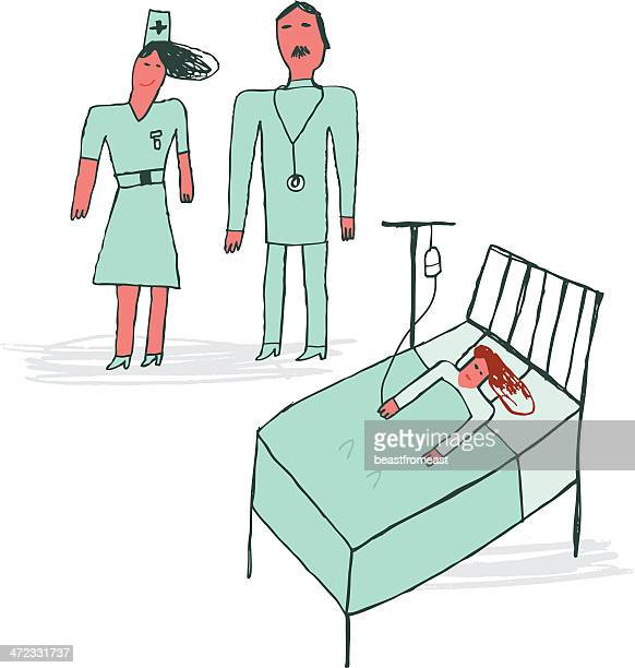 how to make nurse bed in hospitals