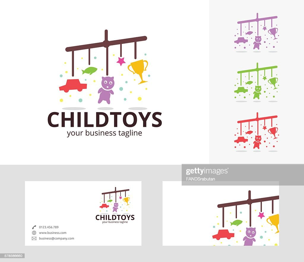 Child Toys Vector Logo Vector Art Getty Images