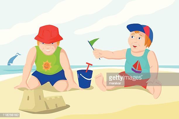children beach holidays