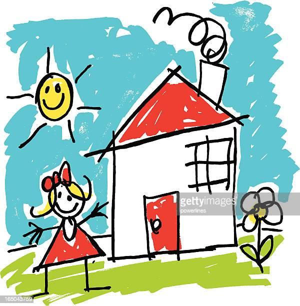 Kinder Zeichnung