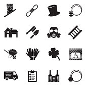 Chimney Sweeper Tools, Chimney Sweeper Profession, Job.
