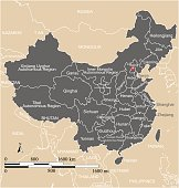 This vector map of China country has been accurately made by a graphic designer who has a postgraduate degree in GIS and remote sensing. You can use this map to show your study site of a project.