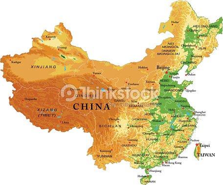 China relief map vector art thinkstock china relief map vector art gumiabroncs Gallery