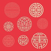 China traditional auspicious symbols,the evolution from Chinese characters.