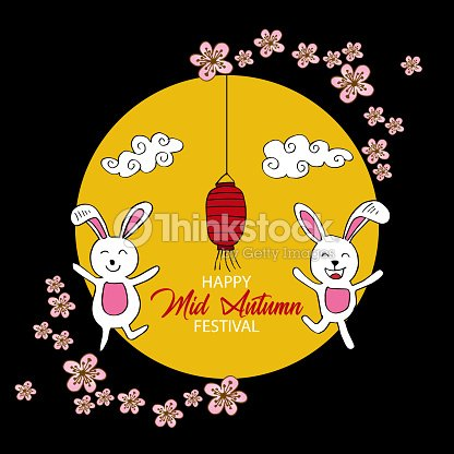 Chinese mid autumn festival greeting card vector art thinkstock chinese mid autumn festival greeting card vector art m4hsunfo
