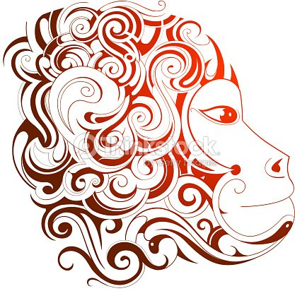 chinese new year 2016 monkey horoscope symbol vector art - Chinese New Year 2016 Animal
