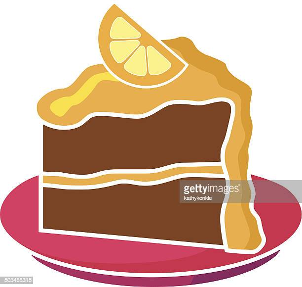 Cake With Icing Vector : Slice Of Cake Stock Illustrations And Cartoons Getty Images