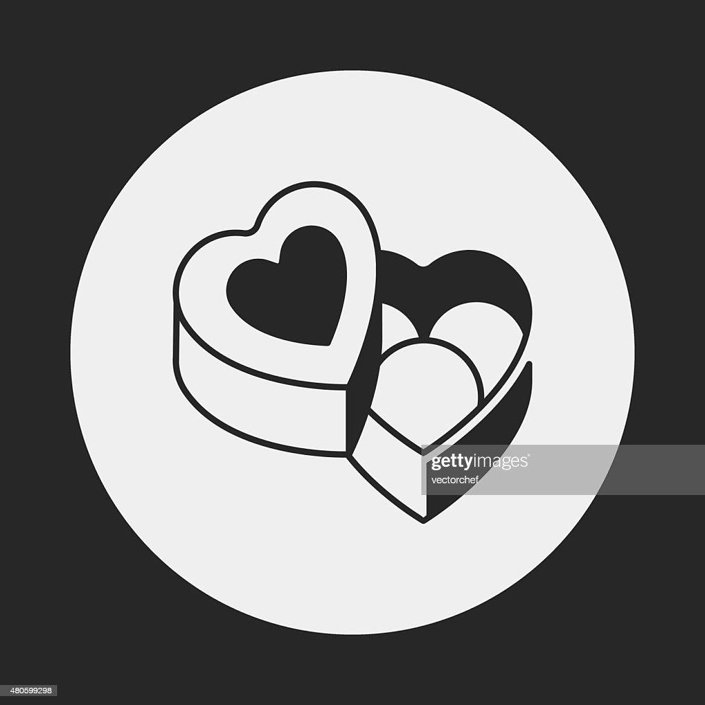 chocolate icon : Vector Art